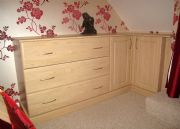 click to see larger image of Bespoke Matching Chests. Fitted in St Peter, Jersey, Chanel Islands