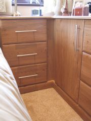 click to see larger image of Made to Measure Chest to match wardrobes.  Fitted in Chepstone