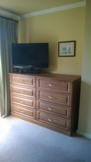 click to see larger image of Bespoke Chest of Drawers in French Walnut. Fitted in Ogmore by Sea, South Wales