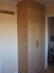 click to see larger image of Bespoke 2 Door Wardrobe. Fitted in St Helier, Jersey, Chanel Islands