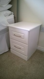 click to see larger image of Bespoke Bedside Chest. Fitted in Pentre, RCT South Wales