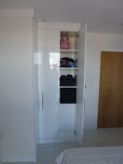 click to see larger image of Fully Fitted Corner Robe. Installed in Cardiff Pointe