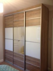 click to see larger image of Classic Sliding Door System. Fitted in Aberavon, Port Talbot, South Wales