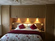 click to see larger image of Fully Fitted over bed and robe. Fitted in Bridgend, South Wales