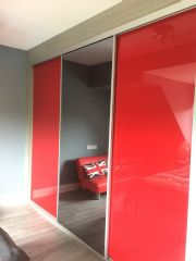 click to see larger image of Bespoke Sliding Door System. Fitted in Wick, Vale of Glamorgan, South Wales